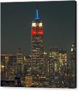 Empire State Building 911 Tribute Canvas Print