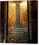 Empire State Building - Magnificent Lobby Canvas Print