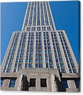 Empire State Building Rising I Canvas Print
