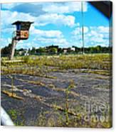 Employee Parking Lot Canvas Print