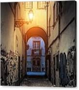 Empty Alley Canvas Print
