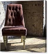 Empty Chair Canvas Print