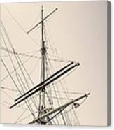 Empty Sails Canvas Print