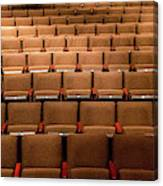Empty Theater Chairs In Ventura Arts Canvas Print