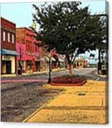 Empty Town Canvas Print