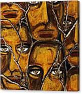 Empyreal Souls No. 5 - Study No. 1 Canvas Print