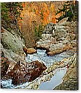 En Route To Glen Ellis Falls Canvas Print