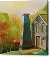 Enamel Factory Canvas Print