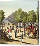 Encampment Of The British Army Canvas Print
