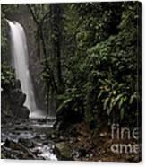 Encantada Waterfall Costa Rica Canvas Print