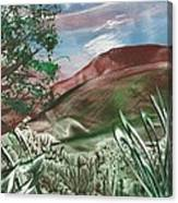 Encaustic 11a Canvas Print