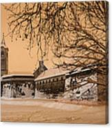 Enchanted Old Town Canvas Print