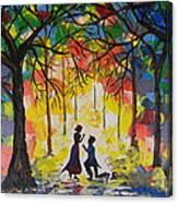 Enchanted Proposal Canvas Print