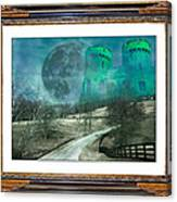 Enchanting Evening With Oz Canvas Print