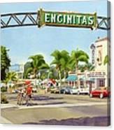 Encinitas California Canvas Print