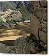 End Of Inca Trail Canvas Print