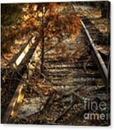 End Of The Line Canvas Print