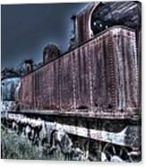 End Of The Line. Canvas Print