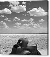 End Of The Road Canvas Print