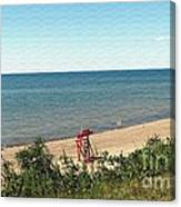 End Of The Season At Wendt Beach Park Canvas Print