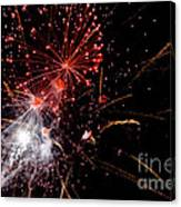 End With A Bang Canvas Print