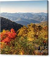 Endless Autumn Mountains Canvas Print