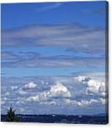 Endless Clouds Canvas Print