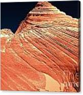 Endless Lines In Sandstone Canvas Print