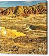 Endless Painted Hills Canvas Print