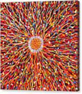 Energy Field Canvas Print