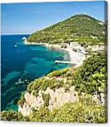 Enfola Beach - Elba Island Canvas Print