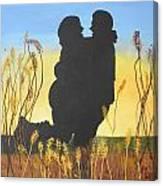 Engaged Canvas Print