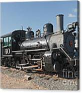 Engine 40 In The Colorado Railroad Museum Canvas Print