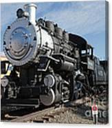 Engine 4455 In The Colorado Railroad Museum Canvas Print