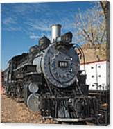 Engine 491 In The Colorado Railroad Museum Canvas Print