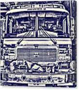 Engine 5 Canvas Print