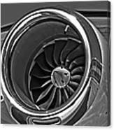 Engine Citation Cj2 Canvas Print
