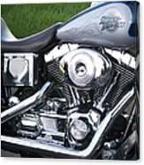 Engine Close-up 5 Canvas Print