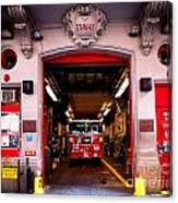 Engine Company 65 Firehouse Midtown Manhattan Canvas Print