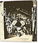 Engine Iron Canvas Print