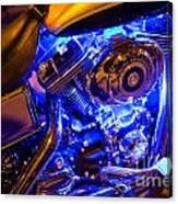 Engine Shimmer Canvas Print