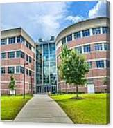 Engineering Building 3 Canvas Print
