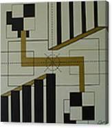 Engineering Target Canvas Print