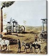 England 18th C.. Industrial Revolution Canvas Print
