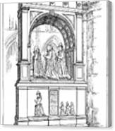 England Church Monument Canvas Print