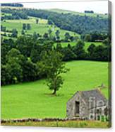 Englands Green And Pleasant Land Canvas Print