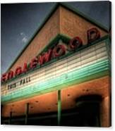 Englewood Theater 4507 Canvas Print