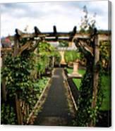 English Country Gardens - Series IIi Canvas Print