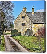 English Farmhouse Canvas Print