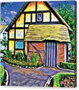 English House Canvas Print